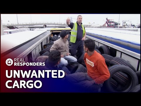 Immigration Officers Find 3 Trucks Full Of Illegal Immigrants | UK Border Force | Real Responders