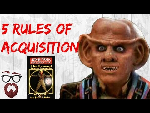 5 Rules of Acquisition That Will Actually Help (Star Trek Philosophy)