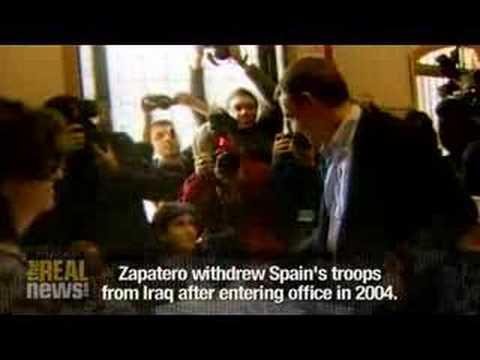 Spain's PM Zapatero re-elected