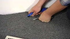 How to Install Carpet Around a Floor Vent : Carpet Installation & Maintenance