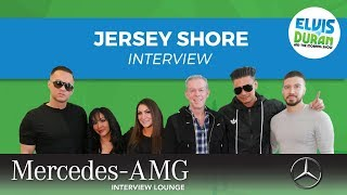 The Jersey Shore Cast on 'Jersey Shore: Family Vacation' | Elvis Duran Show