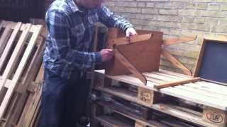 We Do Wood - Geo's Table Assembly Instruction