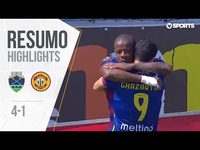 Highlights | Resumo: Chaves 4-1 Nacional (Liga 18/19 #31)