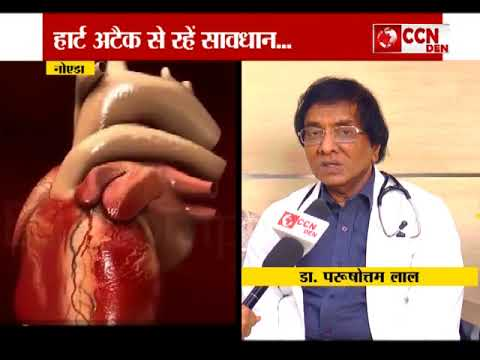ccn den Dr  Purushottam LAL, Chairman  Metro Group of Hospital  SPCL  ON CCN  NEWS CHANNEL