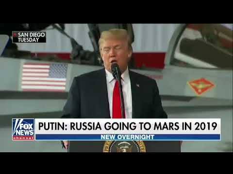 SPACE RACE Vladimir Putin says Russia will go to Mars in 2019