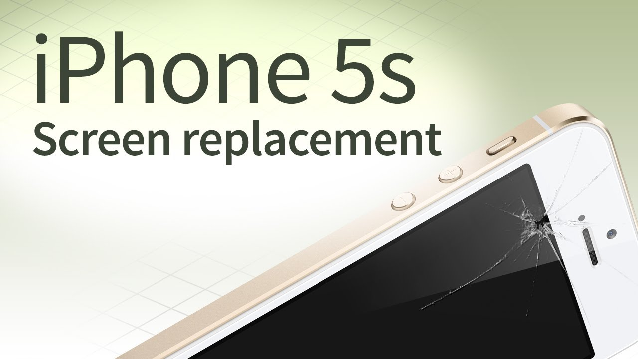 replace iphone 5s screen iphone 5s screen replacement disassembly and reassembly 3410