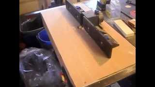 Router Table Extension Wing