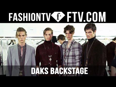 Milan Men Fashion Week Spring/Summer 2017 - Daks Backstage | FashionTV