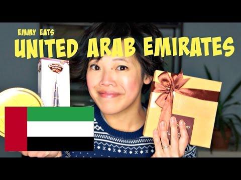 Emmy Eats United Arab Emirates - tasting Emirati Sweets