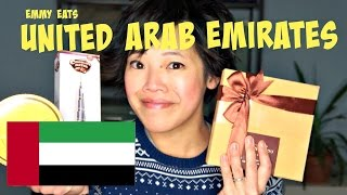 Emmy Eats United Arab Emirates - tasting Emirati Sweets