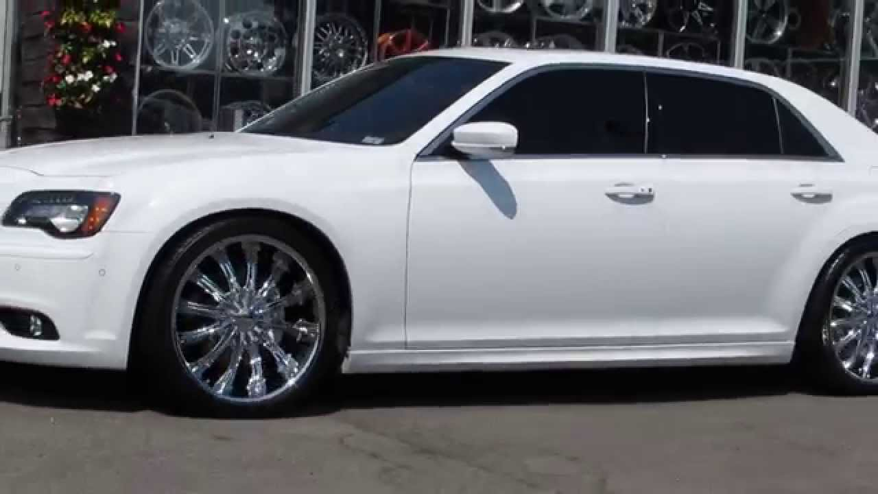 chrysler 300 2014 white. hillyard custom rimu0026tire 2014 chrysler 300 srt riding on 22 inch chrome rims and tires youtube chrysler white