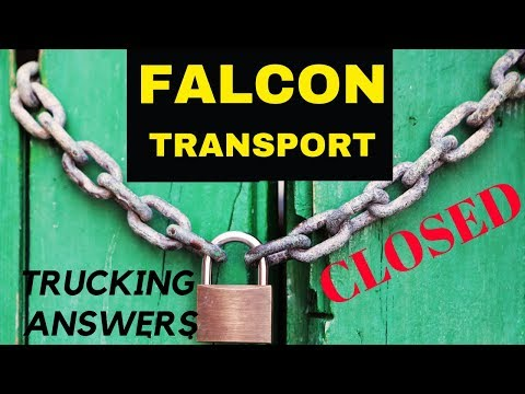 Falcon Transport CLOSED ceases all operations stranding drivers | Trucking Answers