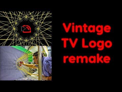 DIY vintange Eurovision TV Logo remake
