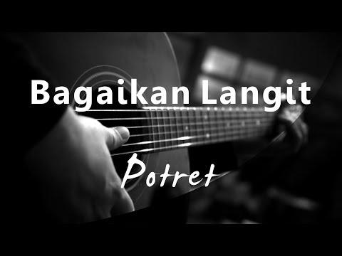 Bagaikan Langit - Melly Goeslaw / Potret ( Acoustic Karaoke )