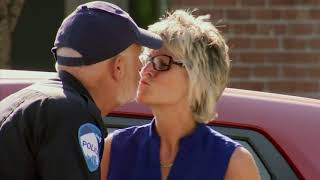 Policeman French Kisses Everybody He Arrests   Just For Laughs Gags