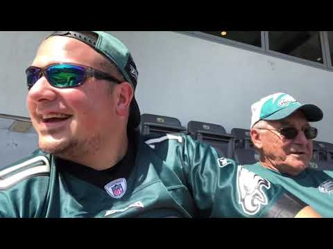 Lincoln Financial Field Hyundai Club Experience! Wow! Got In Before Anyone Else!