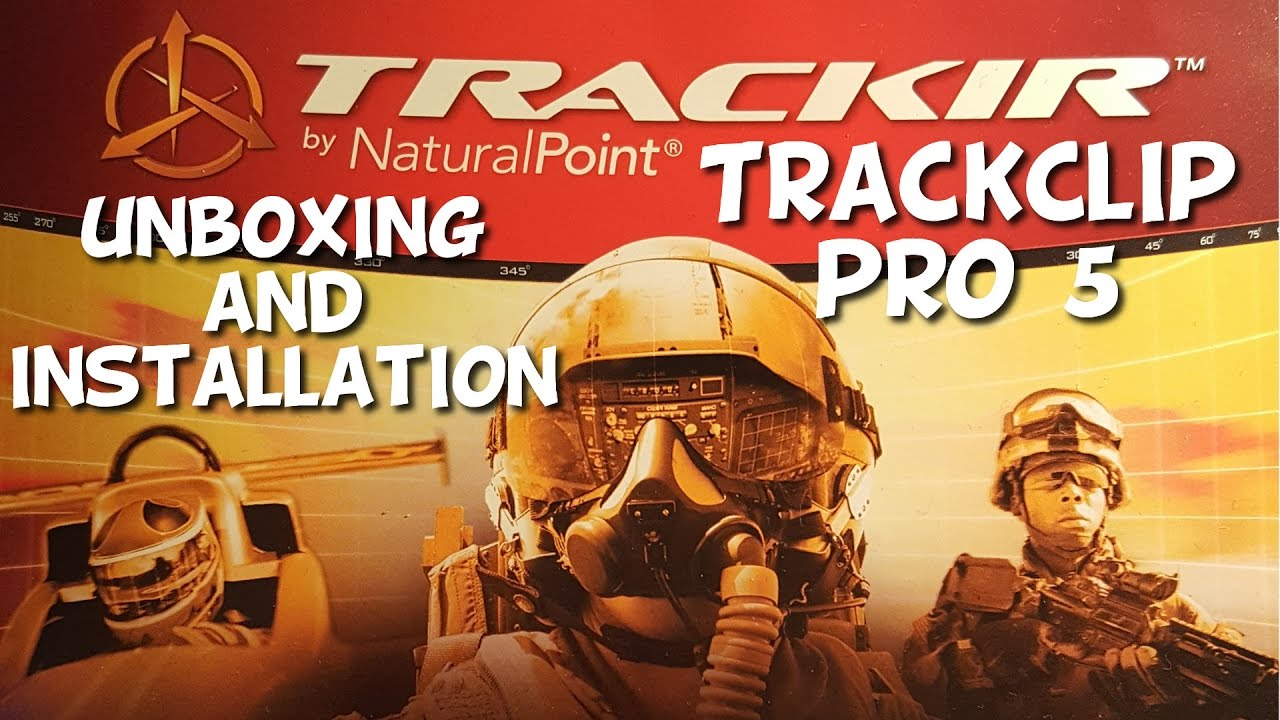 TrackIR 5 with TrackClip Pro | Unboxing and Installation