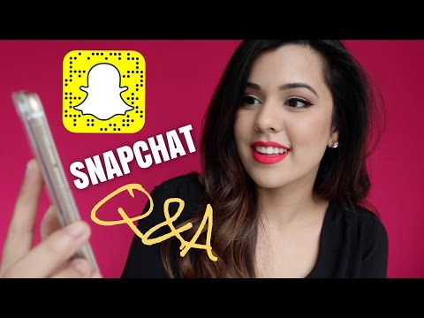 SNAPCHAT Q&A - Why I started YouTube, My Ethnicity & Living in 2 Cities - 동영상