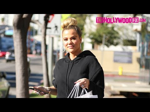 Khloe Kardashian Goes Shopping For Her Niece Dream's 2nd Birthday At Couture Kids 11.14.18
