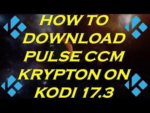 How to Download Pulse CCM Krypton on Kodi 17.3