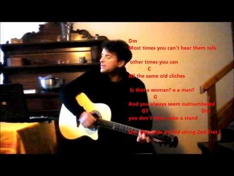 Turn The Page - Bob Seger - By Mandu ( COVER ) -w. Chords & Lyrics
