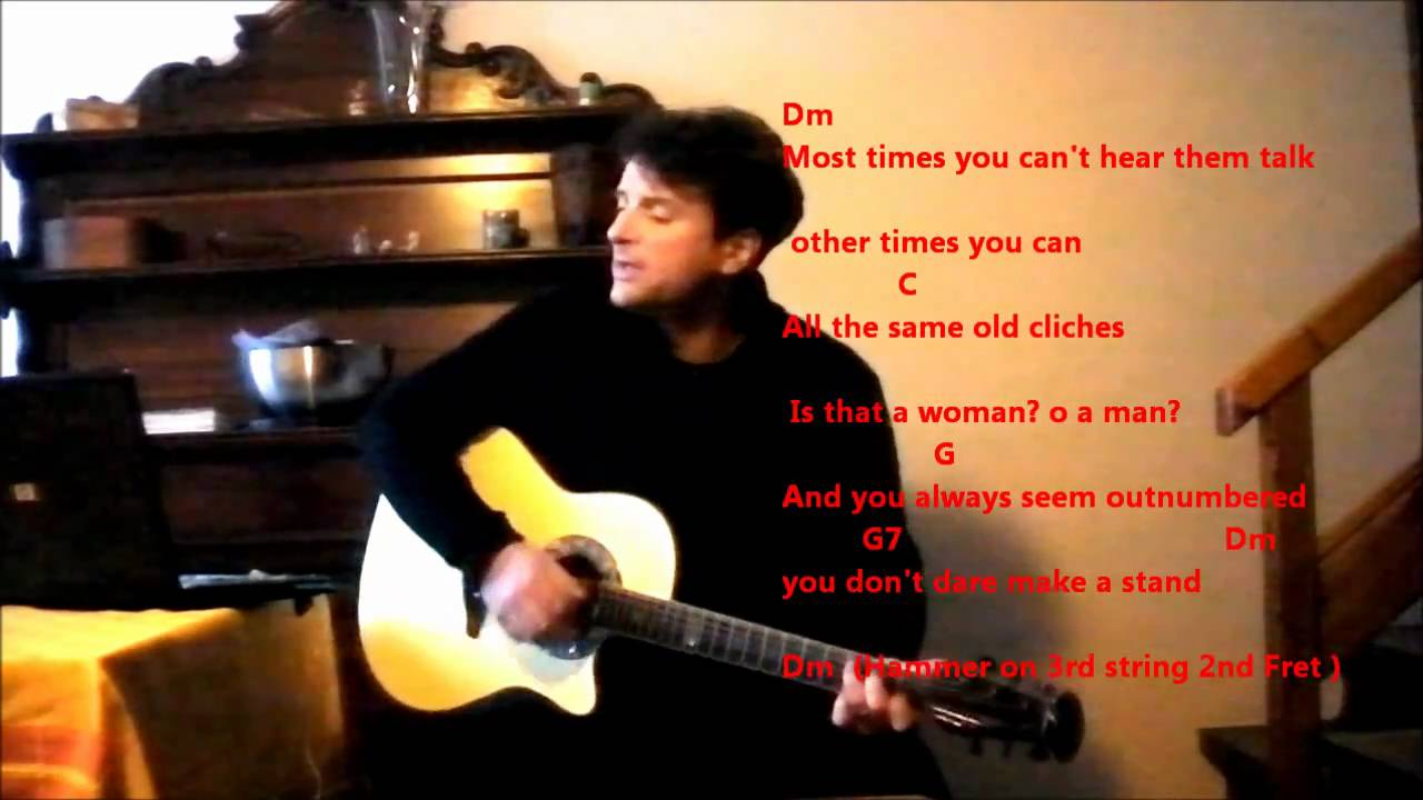 Bob Seger -Shame On The Moon (With Lyrics) Chords - Chordify