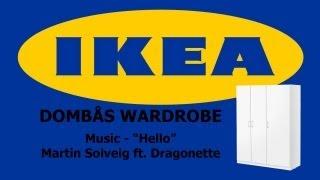 Ikea DombÅs Wardrobe Timelapse