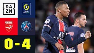 Zweimal Mbappé, vier Tore und PSG auf der Eins: Nimes - PSG 0:4 | Ligue 1 | DAZN Highlights