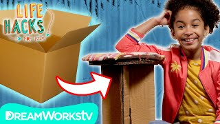 Cardboard Hacks | LIFE HACKS FOR KIDS