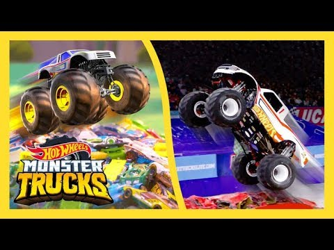 MEET THE MONSTERS: HOT WHEELS RACING #1 | Monster Trucks LIVE | Hot Wheels