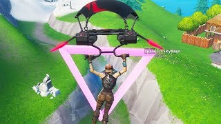 Fortbyte 89 Accessible by Flying the Scarlet Strike Glider Through the Rings East of Snobby Shores