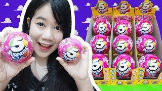 แกะไข่เซอร์ไพรส์ 5 ชั้น!! ไข่ที่มีของเล่น 5 อย่างในใบเดียว~ คุ้มสุดๆ!! 【5 Surprise Ball Unboxing】