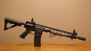 Tippmann M4 with CMR rail and Accessories