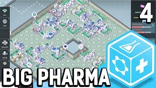 Big Pharma #4 Den Platz gut nutzen Der Pillen Fabrik Simulator BETA Gameplay