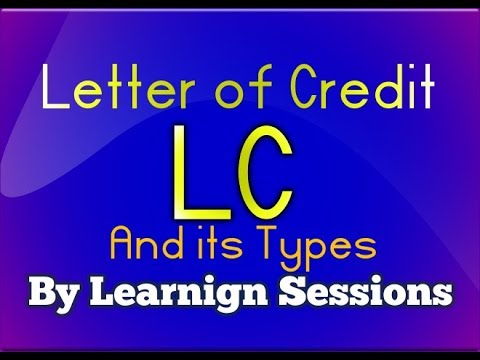 LC - Letter of credit and types of letter of credit in detail JAIIB LIVE CLASS