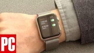 Unboxing the Apple Watch
