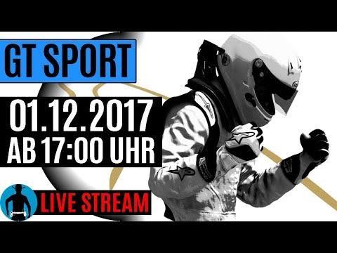 LIVE am 01.12.2017 ab 17:00 Uhr: Gran Turismo Sport Gameplay [deutsch] [PS4]