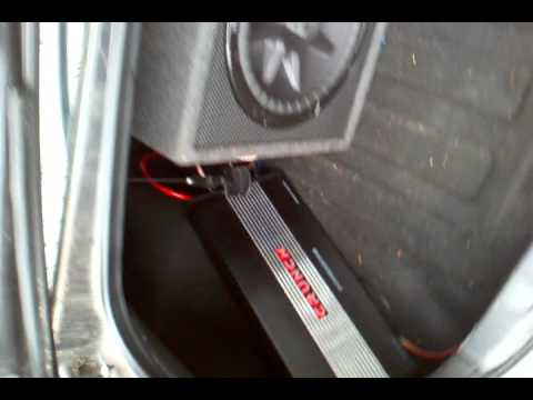 kicker cvr 10 hook up