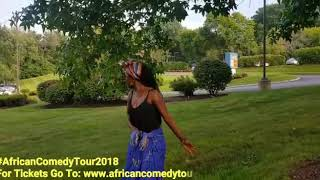 Kansiime with Eric omondi and 2mbili for the American tour 2018