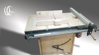 $100?Real?Homemade Angle adjusts table saw. DIY 2in1 Table saw. Make public disassembly and assembly