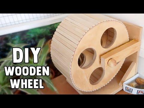 Wooden Hamster Wheel Tutorial   #DIYJuly 19