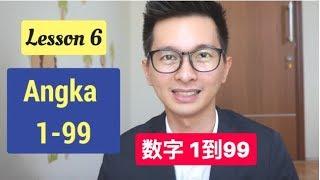 Lesson 6. Angka 1-99 数字 Belajar Bahasa Mandarin