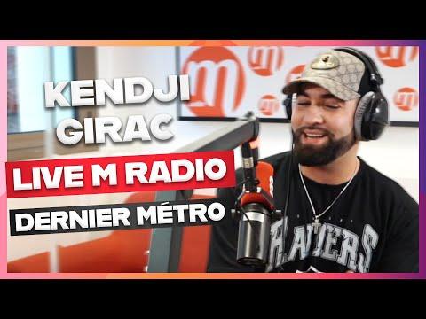 KENDJI GIRAC - DERNIER MÉTRO [LIVE M RADIO] 🎙🎵