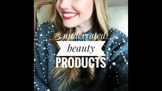 5 UNDERRATED BEAUTY PRODUCTS (THAT DESERVE MORE LOVE) | Faith Marie
