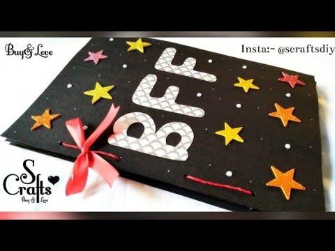 Gift Card | Scrapbook 🌺 | Handmade | S Crafts | Gift for best friend | BFF | Handmade gift ideas