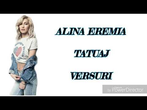 Alina Eremia-Tatuaj (Versuri)