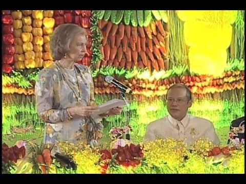Visit of Queen Sofia of Spain 7/3/2012