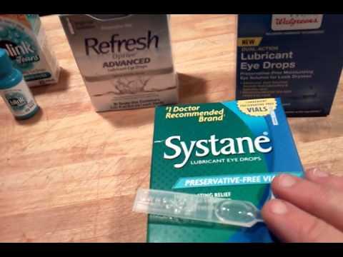 Systane Eye Drop Review Lasik Eye Surgery Blinks Refresh Thera Tears
