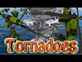 Minecraft | TORNADO VS PLANES CHALLENGE - Plane Inside Tornado! (Tornadoes, Planes, Hurricanes)