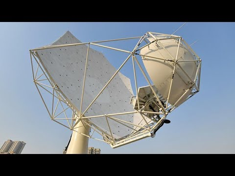 First fully assembled dish for SKA radio telescope unveiled in China